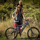 Richard Goldbury's Carbon Home-made Gearbox Bike