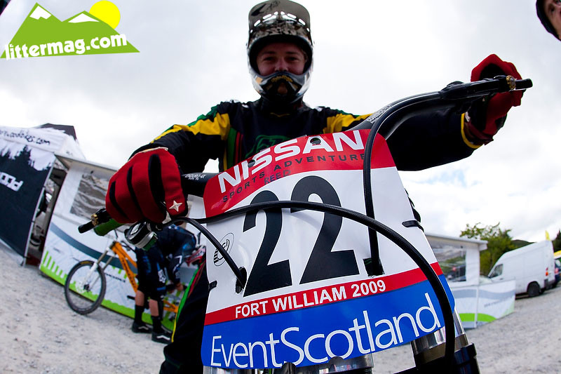 Mitch Delfs - 2009 UCI World Cup Fort William - Day 2 - Mountain Biking Pictures - Vital MTB