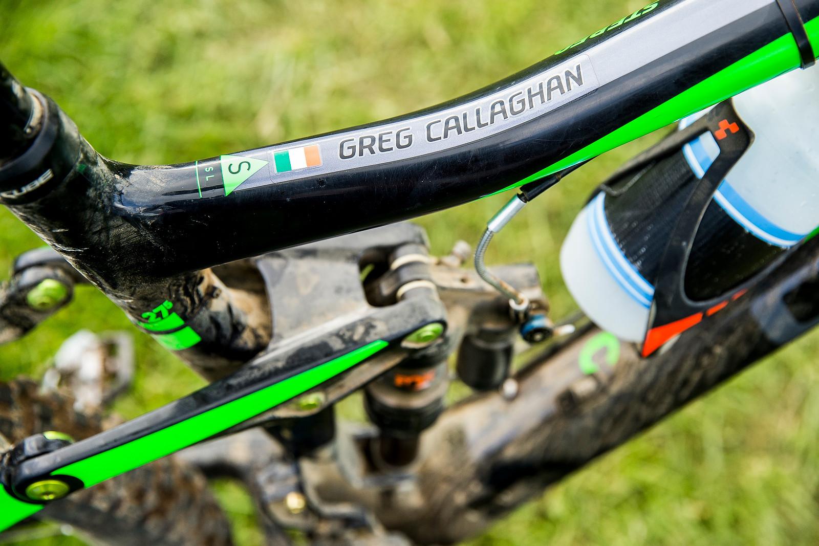 WINNING BIKE: Greg Callaghan's Cube Stereo 140 Super HPC SL 27.5 - WINNING BIKE: Greg Callaghan's Cube Stereo 140 Super HPC SL 27.5 - Mountain Biking Pictures - Vital MTB