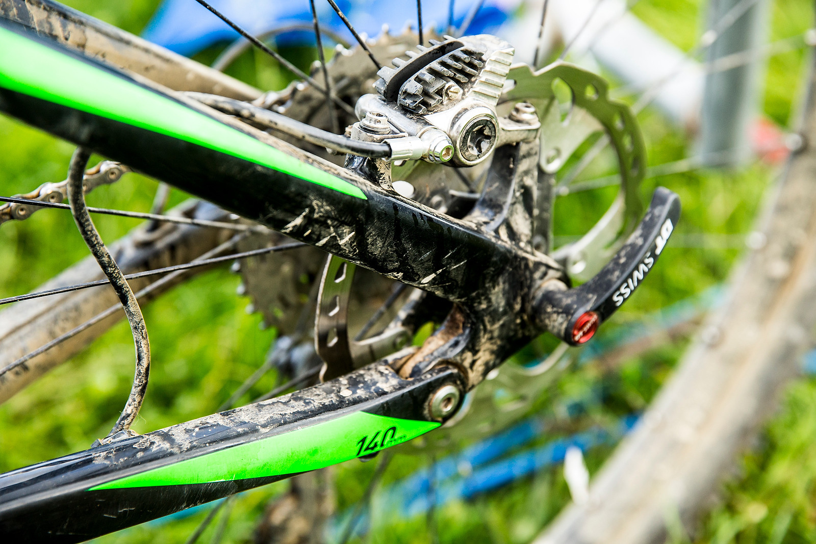 Shimano XTR Brakes with ICE Tech Rotor - WINNING BIKE: Greg Callaghan's Cube Stereo 140 Super HPC SL 27.5 - Mountain Biking Pictures - Vital MTB