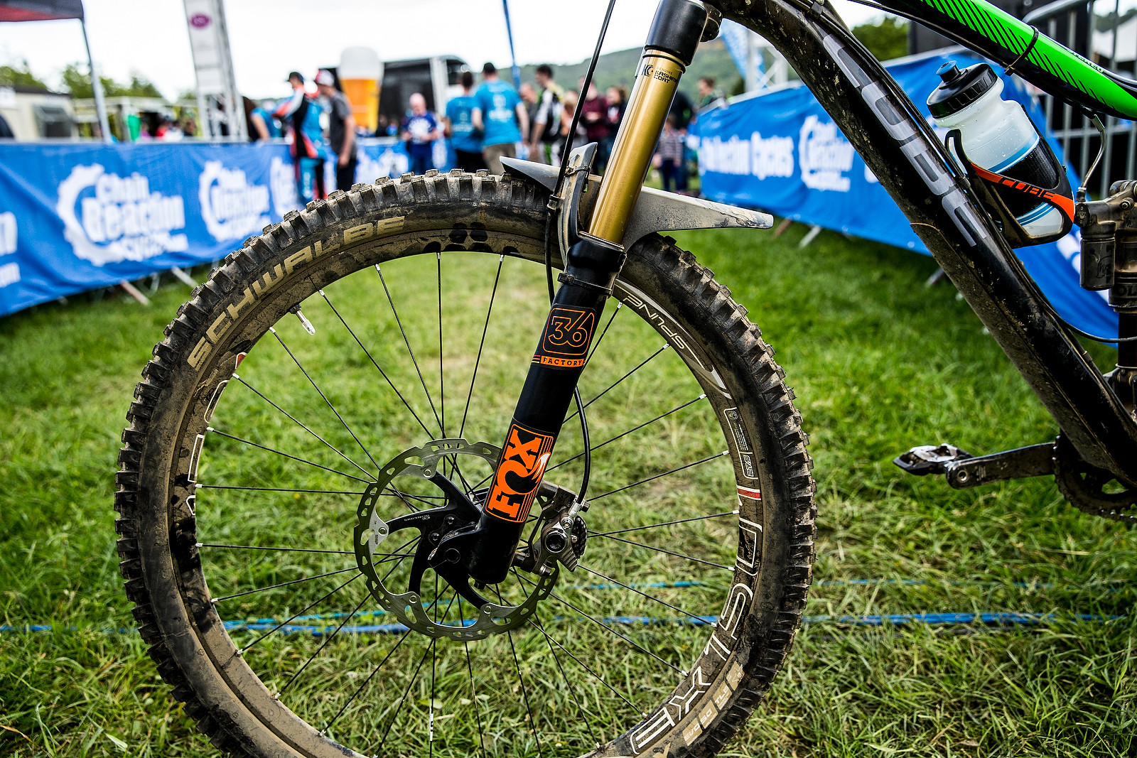 FOX 36 - WINNING BIKE: Greg Callaghan's Cube Stereo 140 Super HPC SL 27.5 - Mountain Biking Pictures - Vital MTB