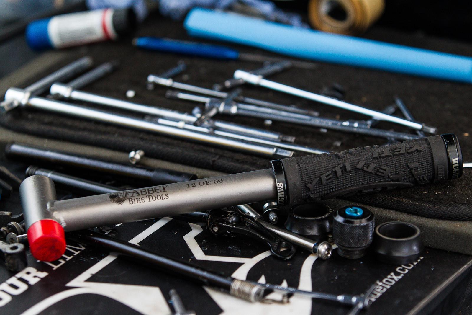 Solid Titanium Hammer - PIT BITS - Enduro World Series Tweedlove - Mountain Biking Pictures - Vital MTB