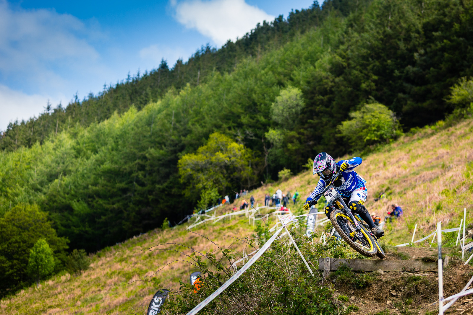 RACE REPORT - British Downhill Series, Llangollen - Joe Smith, 1st Place  - RACE REPORT - British Downhill Series Llangollen - Mountain Biking Pictures - Vital MTB