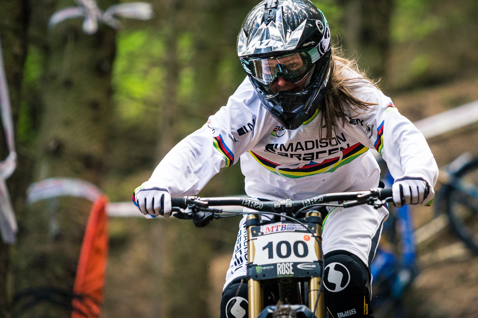 Manon Carpenter, 1st Place Elite Womens, British Downhill Series Langollen - RACE REPORT - British Downhill Series Llangollen - Mountain Biking Pictures - Vital MTB