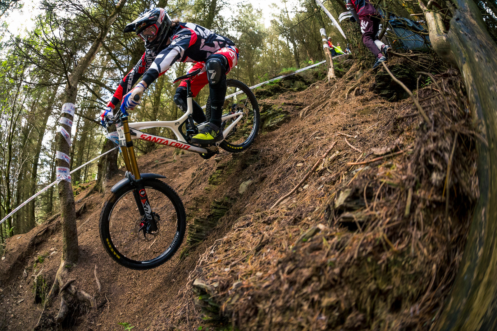 Jay Williamson, BDS Llangollen - RACE REPORT - British Downhill Series Llangollen - Mountain Biking Pictures - Vital MTB