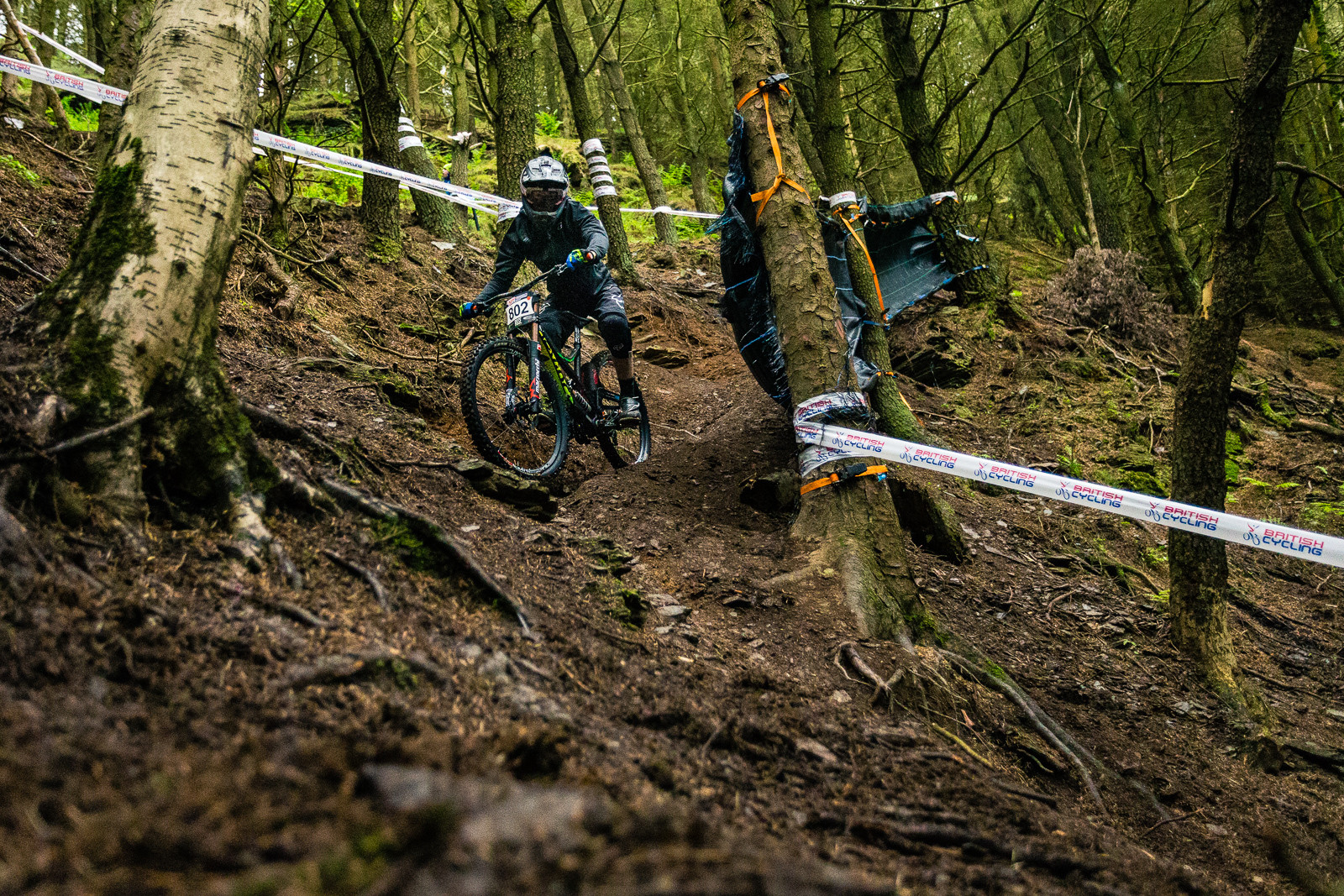 Kaos Seagrave, British Downhill Series Langollen - RACE REPORT - British Downhill Series Llangollen - Mountain Biking Pictures - Vital MTB