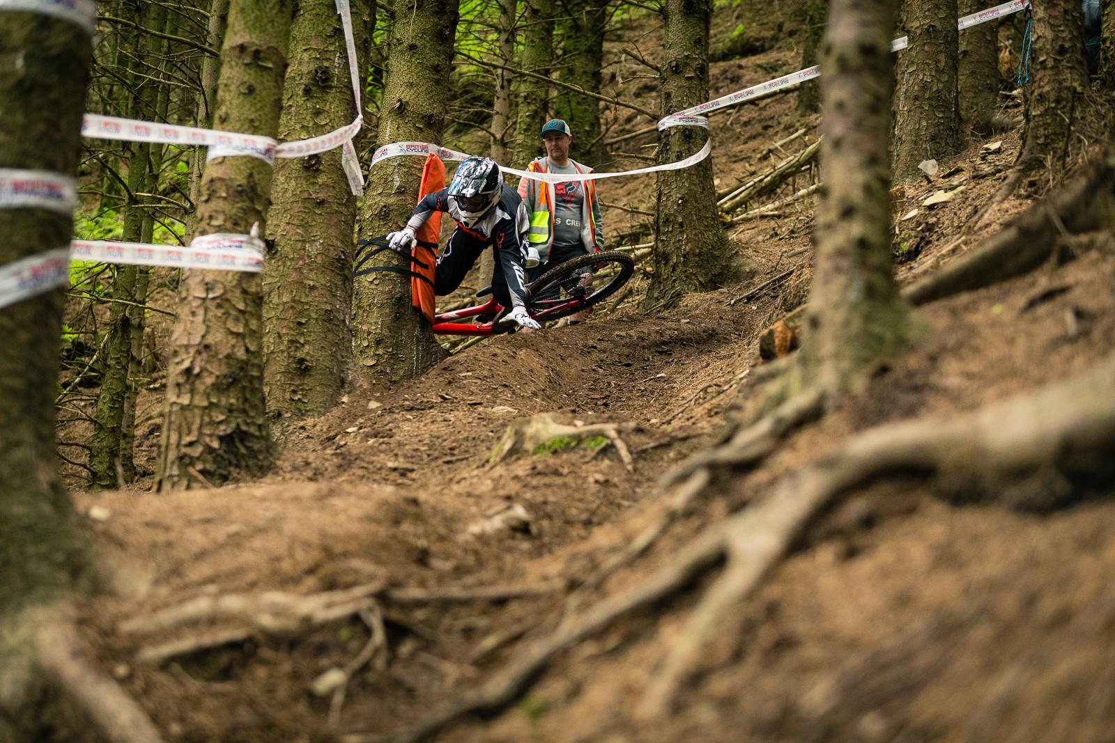 Heckler's Drop Carnage, British Downhill Series Langollen - RACE REPORT - British Downhill Series Llangollen - Mountain Biking Pictures - Vital MTB