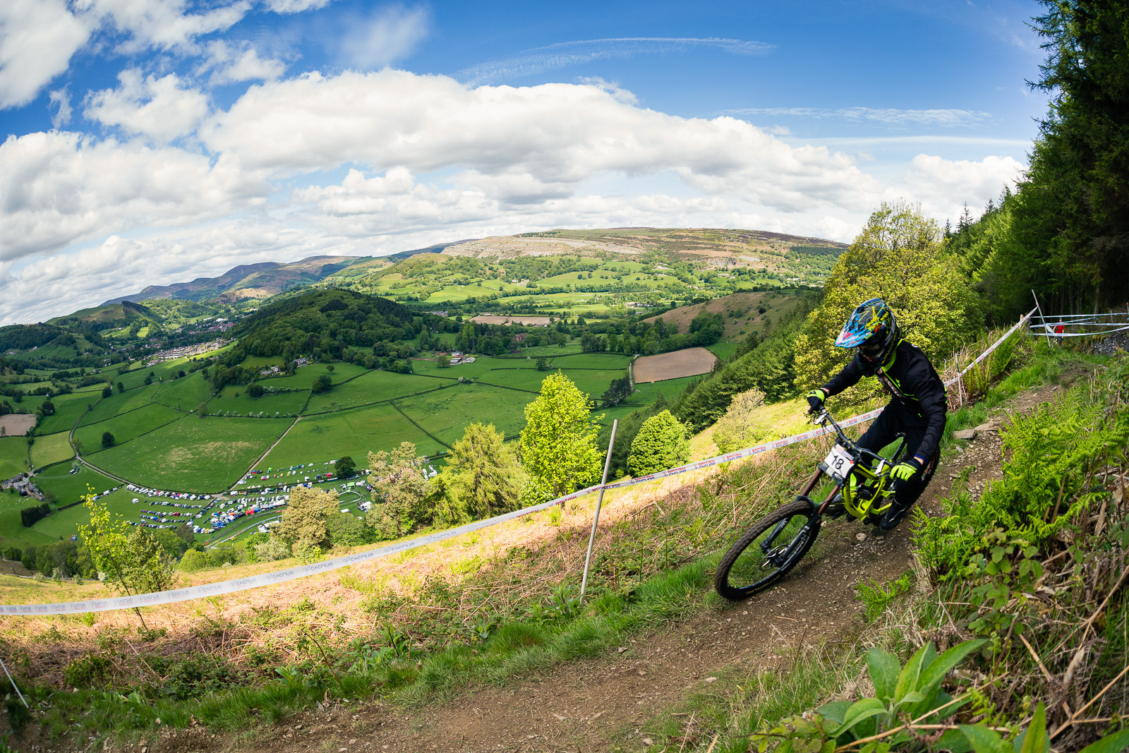 George Gannicott, British Downhill Series Langollen - RACE REPORT - British Downhill Series Llangollen - Mountain Biking Pictures - Vital MTB