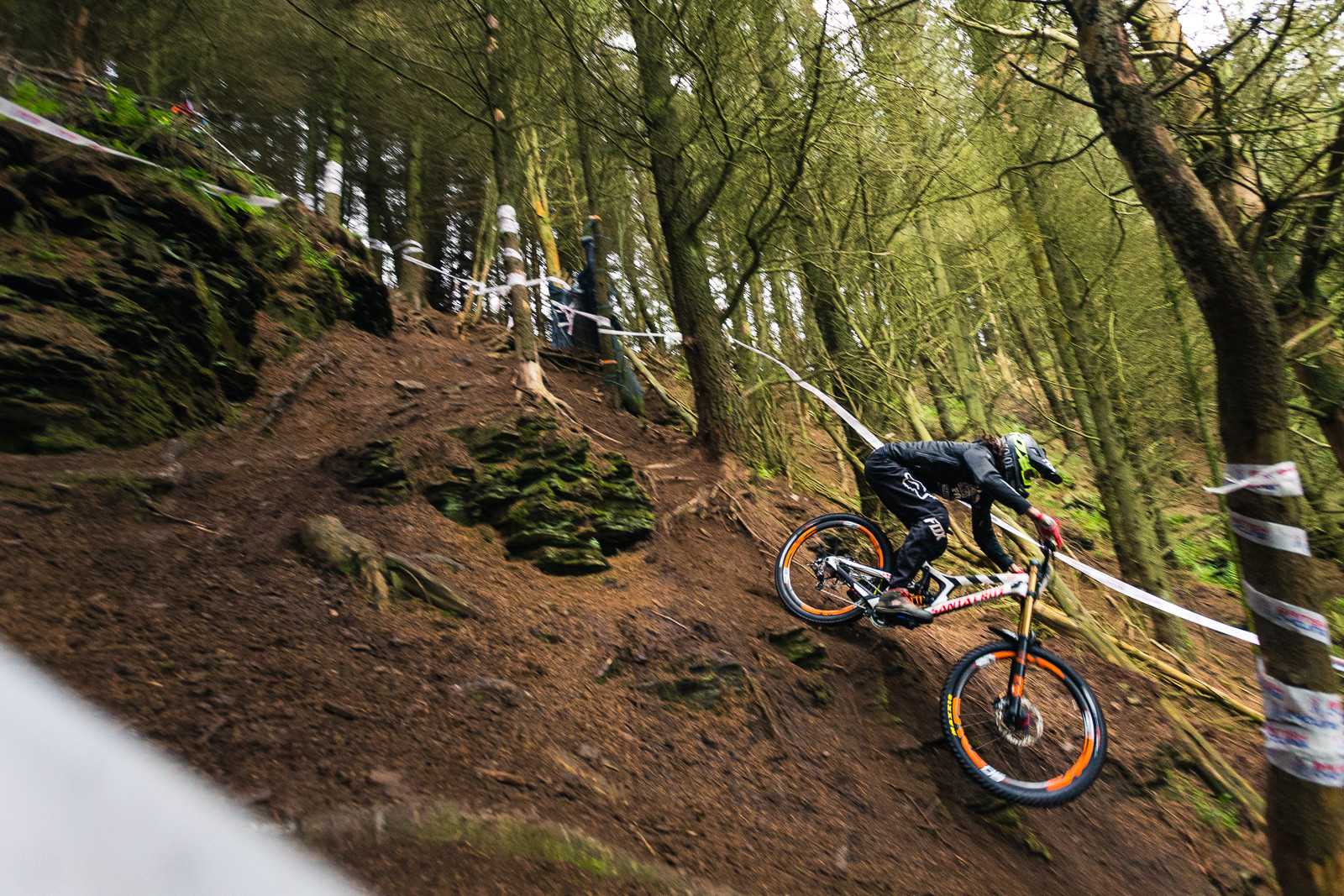 Josh Bryceland, 3rd Place, British Downhill Series Langollen - RACE REPORT - British Downhill Series Llangollen - Mountain Biking Pictures - Vital MTB