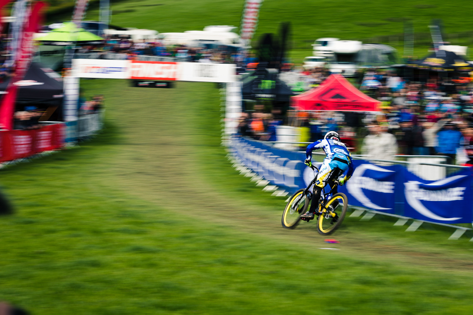 Mike Jones, British Downhill Series Langollen - RACE REPORT - British Downhill Series Llangollen - Mountain Biking Pictures - Vital MTB