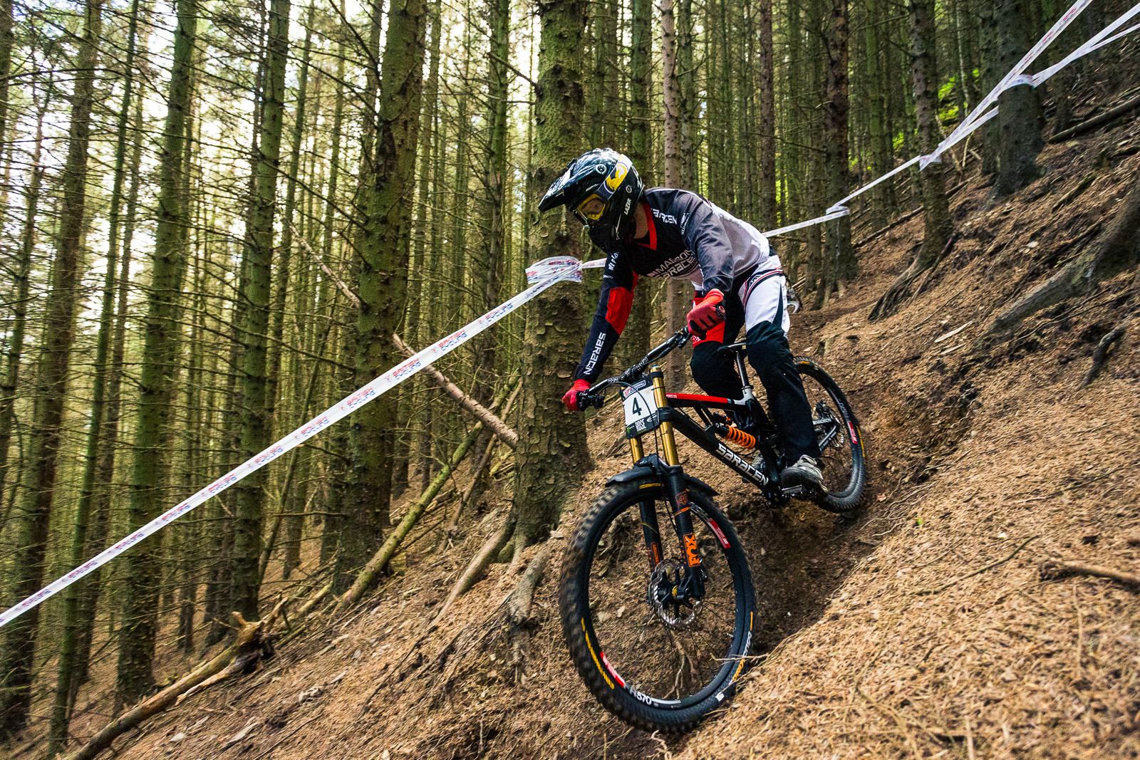 Matt Simmonds, British Downhill Series Langollen - RACE REPORT - British Downhill Series Llangollen - Mountain Biking Pictures - Vital MTB