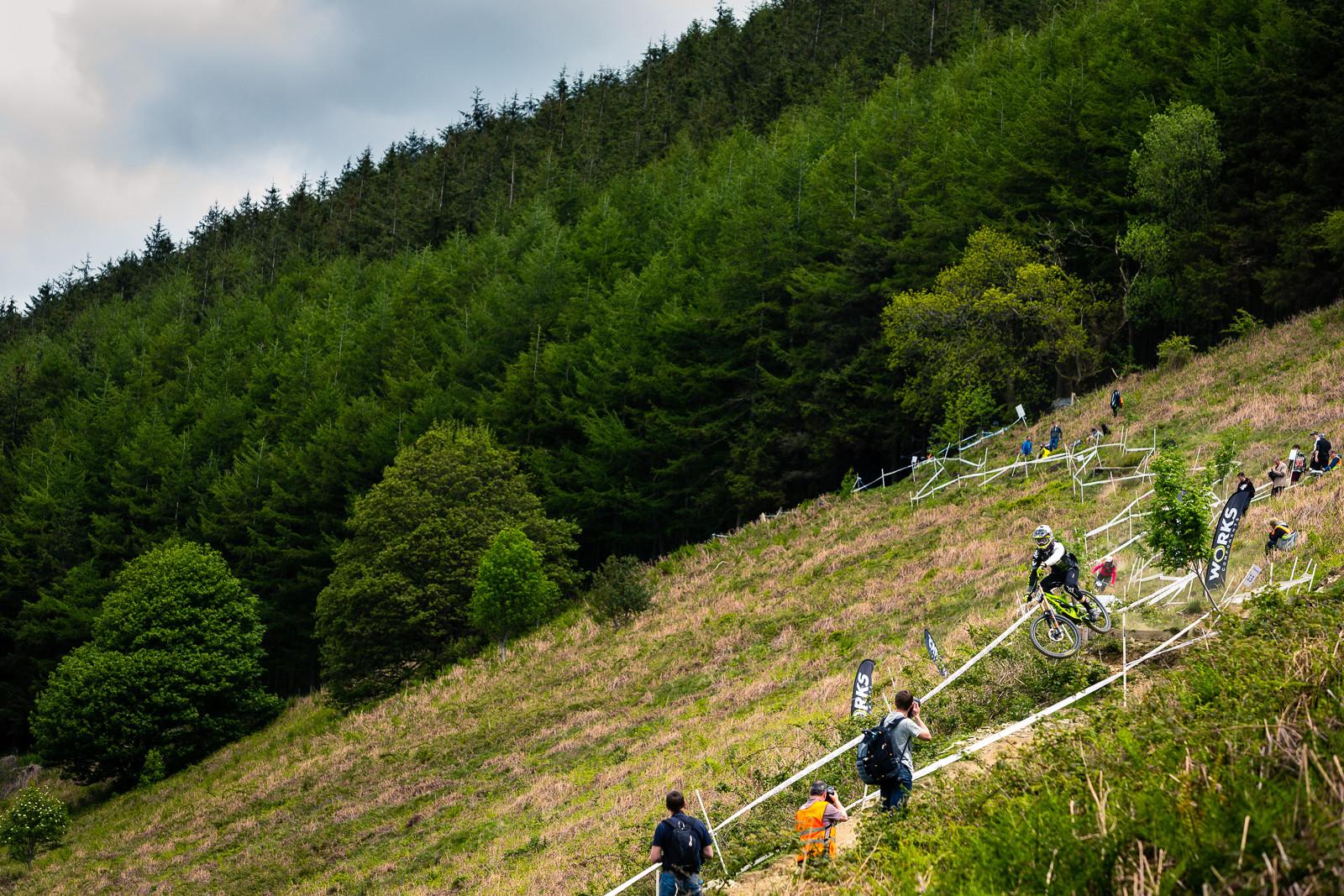 Bernard Kerr, British Downhill Series Langollen - RACE REPORT - British Downhill Series Llangollen - Mountain Biking Pictures - Vital MTB