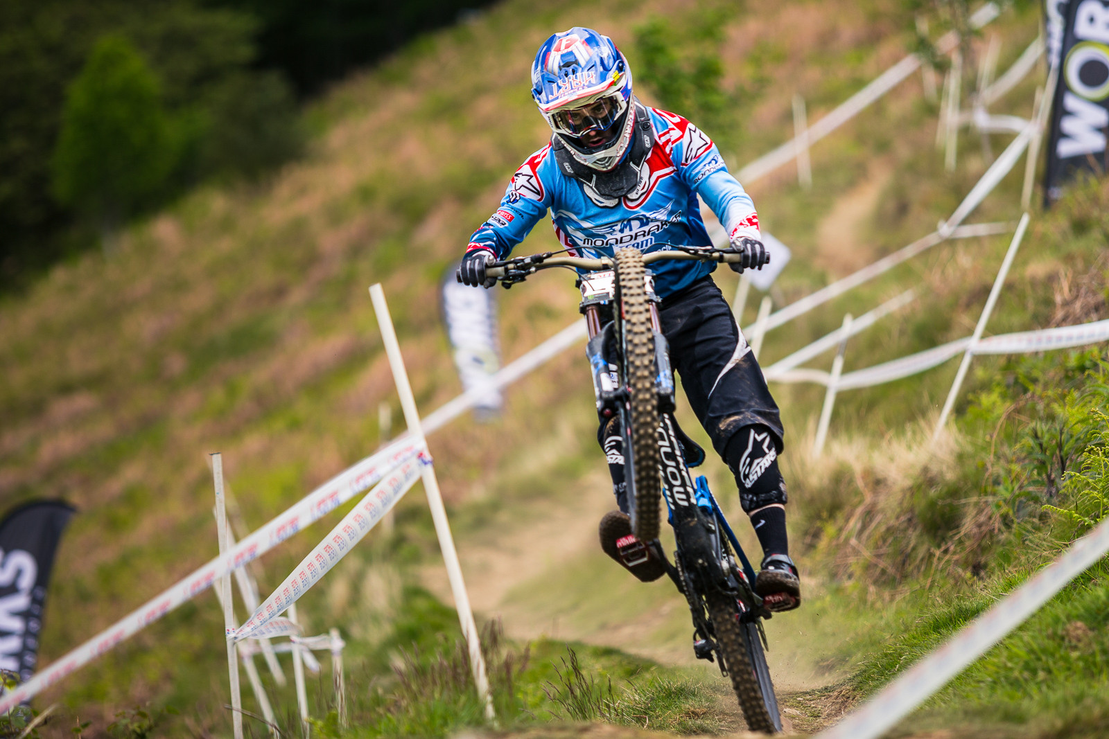 Danny Hart, 2nd Place, British Downhill Series Langollen - RACE REPORT - British Downhill Series Llangollen - Mountain Biking Pictures - Vital MTB