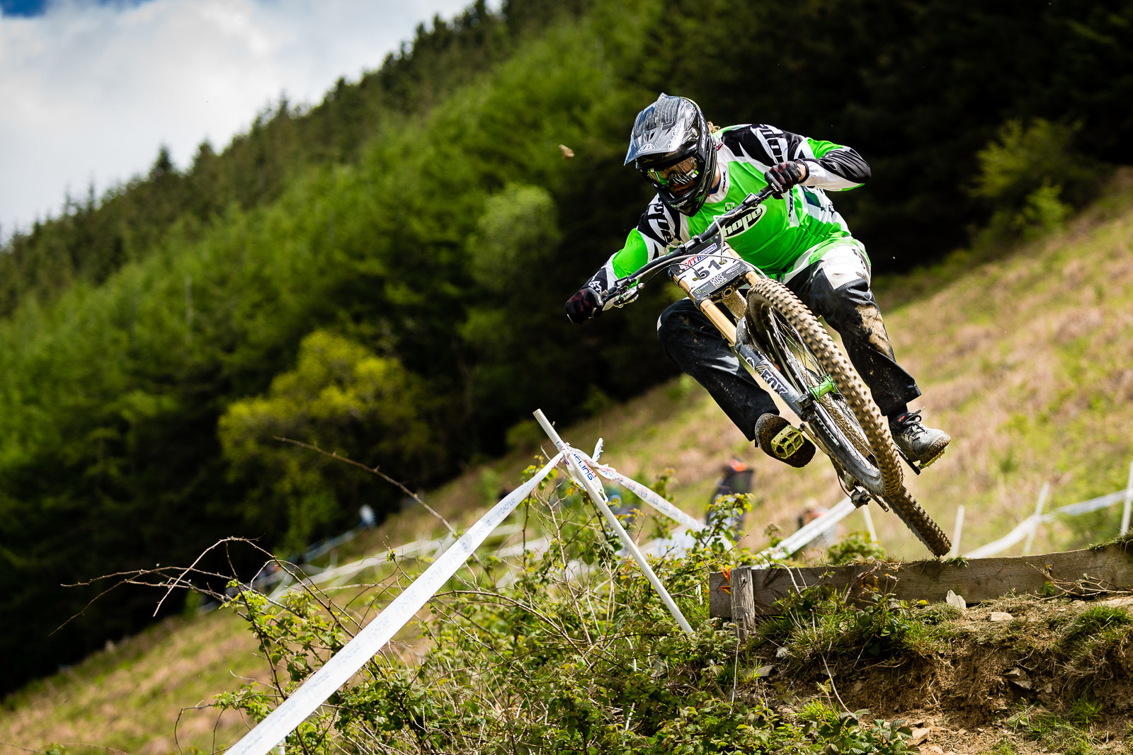 Craig Evans, British Downhill Series Langollen - RACE REPORT - British Downhill Series Llangollen - Mountain Biking Pictures - Vital MTB