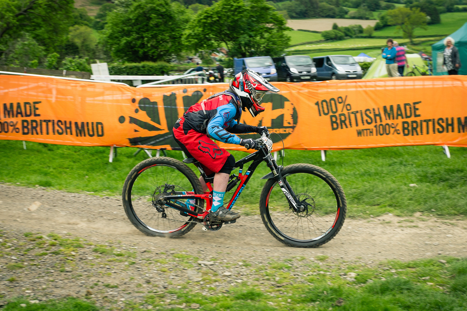 Saracen Myst G-ed Out at Llangollen - G-Out Project - Llangollen BDS 2015 - Mountain Biking Pictures - Vital MTB