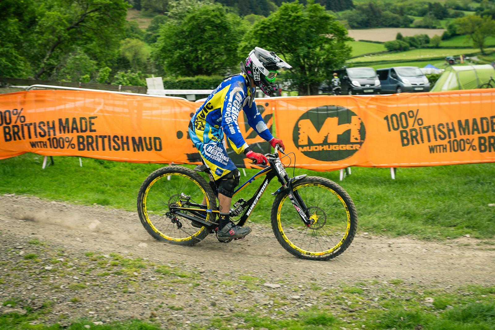 Mike Jones G's Out His Nukeproof Pulse at Llangollen - G-Out Project - Llangollen BDS 2015 - Mountain Biking Pictures - Vital MTB