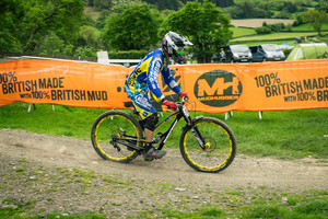 Mike Jones G's Out His Nukeproof Pulse at Llangollen