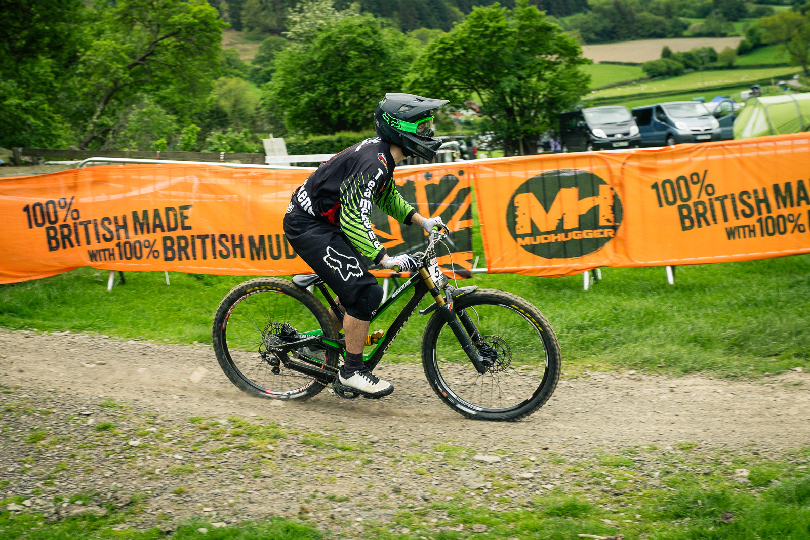 Specialized Demo G-ed Out at Llangollen - G-Out Project - Llangollen BDS 2015 - Mountain Biking Pictures - Vital MTB