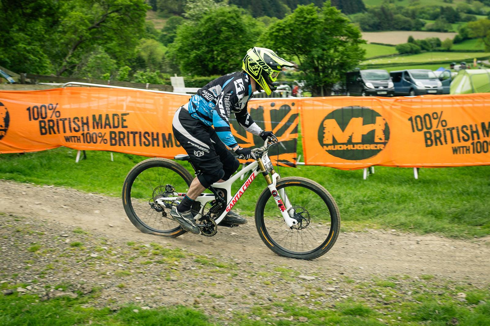 Santa Cruz V10 G-ed Out at Llangollen - G-Out Project - Llangollen BDS 2015 - Mountain Biking Pictures - Vital MTB