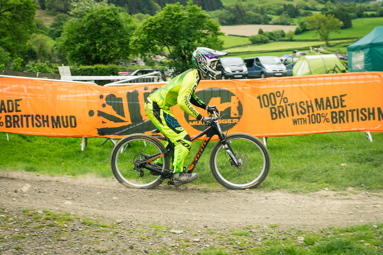 Kona Operator G-ed Out at Llangollen - G-Out Project - Llangollen BDS 2015 - Mountain Biking Pictures - Vital MTB
