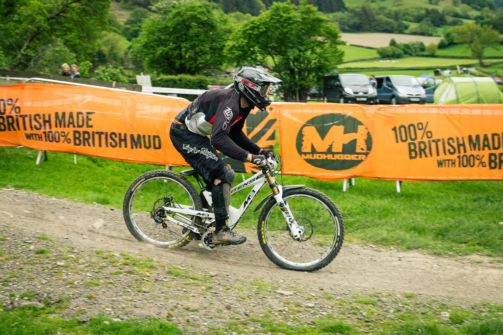 Intense M9 G-ed Out at Llangollen - G-Out Project - Llangollen BDS 2015 - Mountain Biking Pictures - Vital MTB