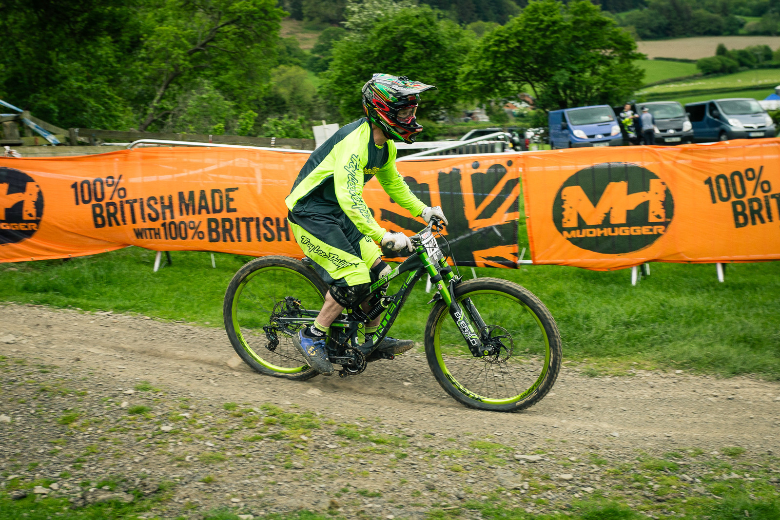 Intense 951 EVO G-ed Out at Llangollen - G-Out Project - Llangollen BDS 2015 - Mountain Biking Pictures - Vital MTB