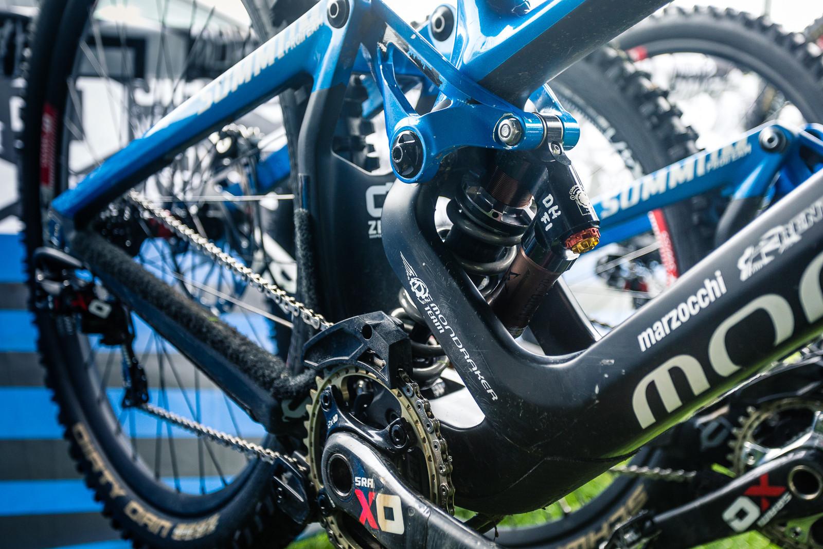 PIT BITS - BDS Llangollen - Danny Hart's Mondraker - PIT BITS - British Downhill Series, Llangollen - Mountain Biking Pictures - Vital MTB