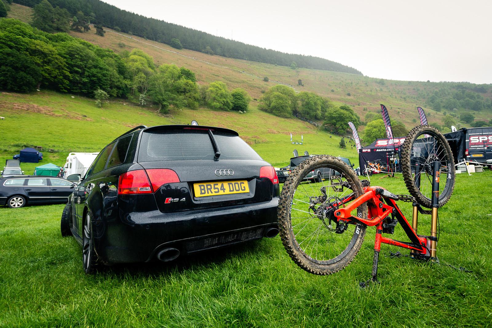 Guess Who? BDS Llangollen - PIT BITS - British Downhill Series, Llangollen - Mountain Biking Pictures - Vital MTB