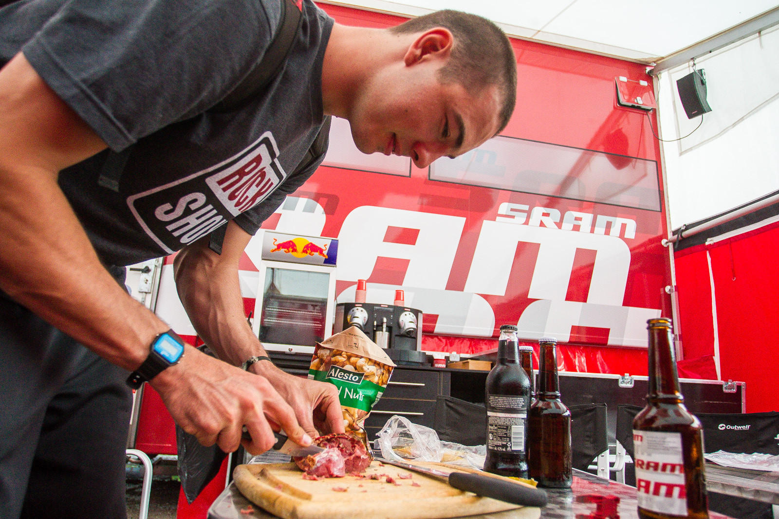 SRAM Enduring the Storm in Leogang - PIT BITS - Leogang World Cup Downhill - Mountain Biking Pictures - Vital MTB