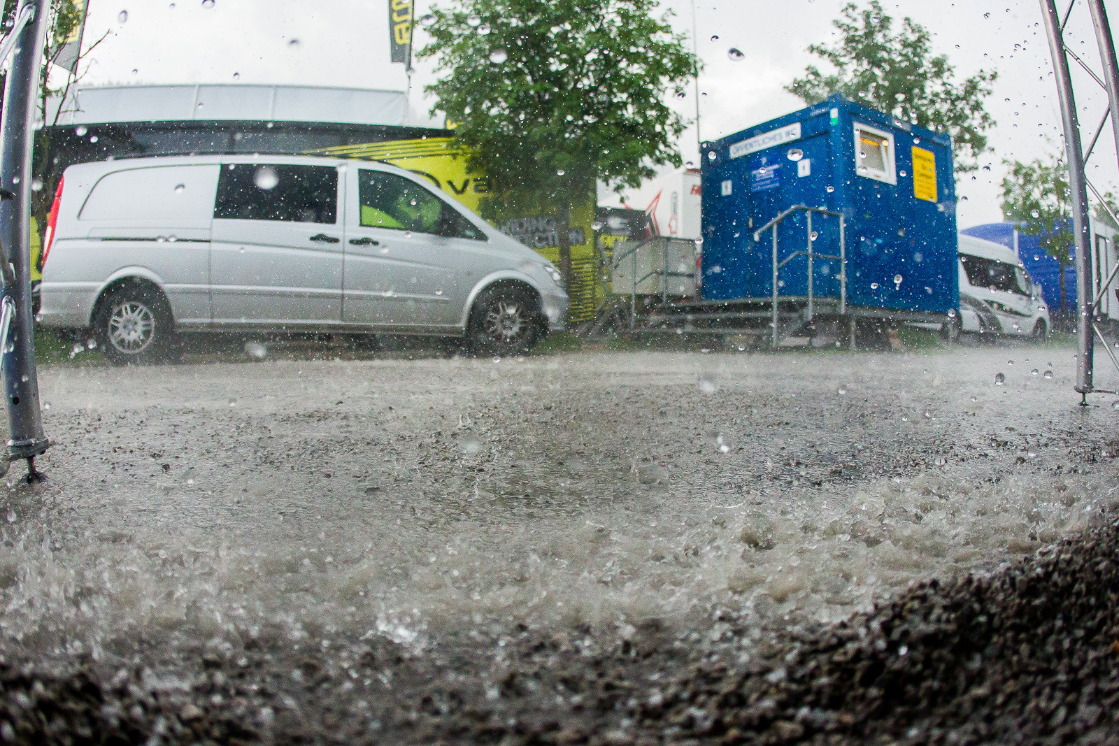It Rained Hard in Leogang Today - PIT BITS - Leogang World Cup Downhill - Mountain Biking Pictures - Vital MTB