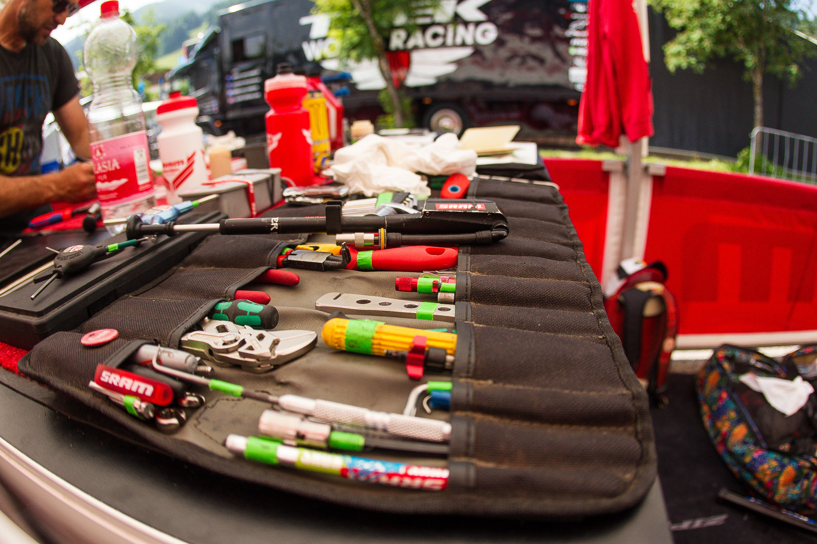 Evan Warner's Tool Pouch - PIT BITS - Leogang World Cup Downhill - Mountain Biking Pictures - Vital MTB