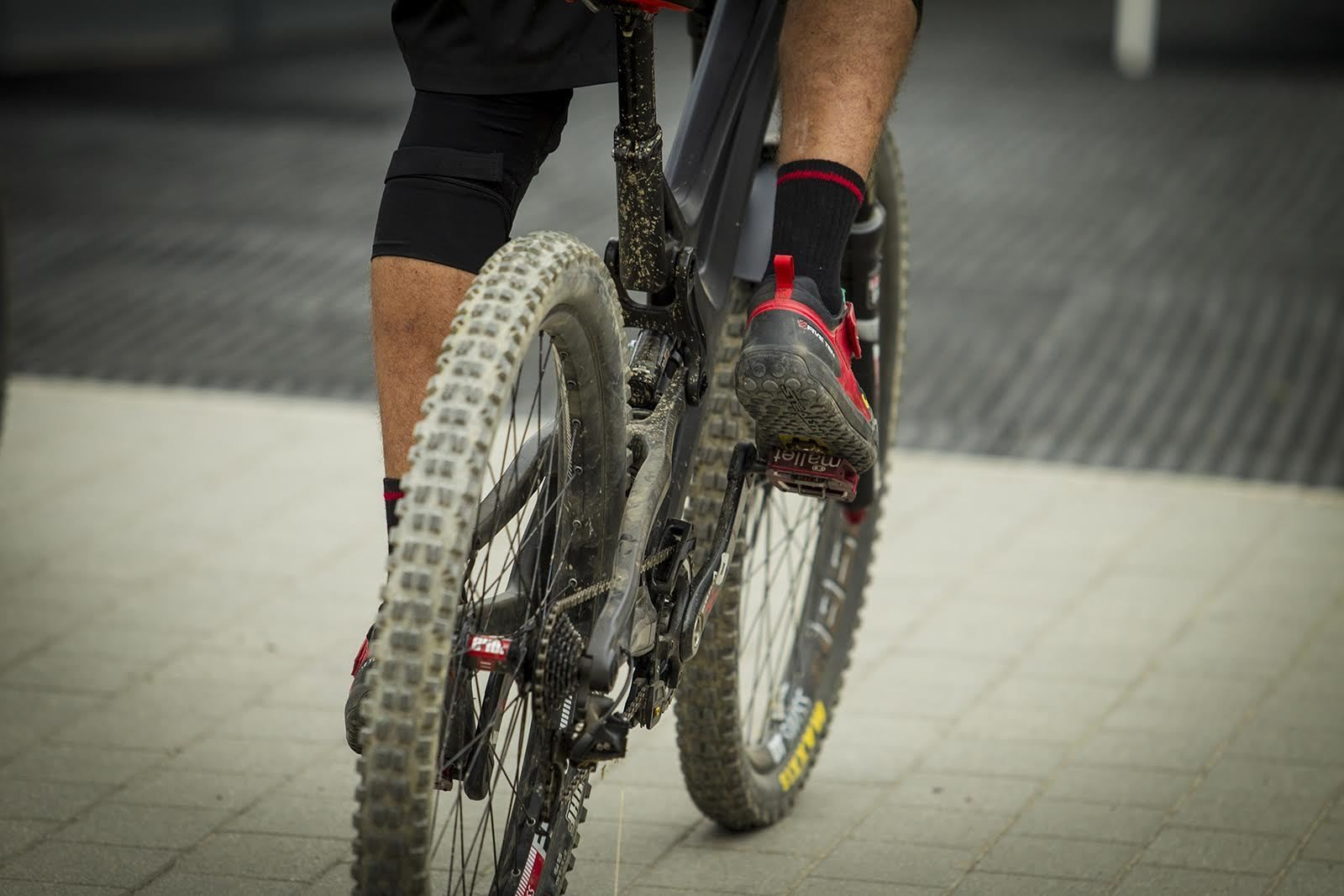 Intense M16 in Carbon? - PIT BITS - Leogang World Cup Downhill - Mountain Biking Pictures - Vital MTB