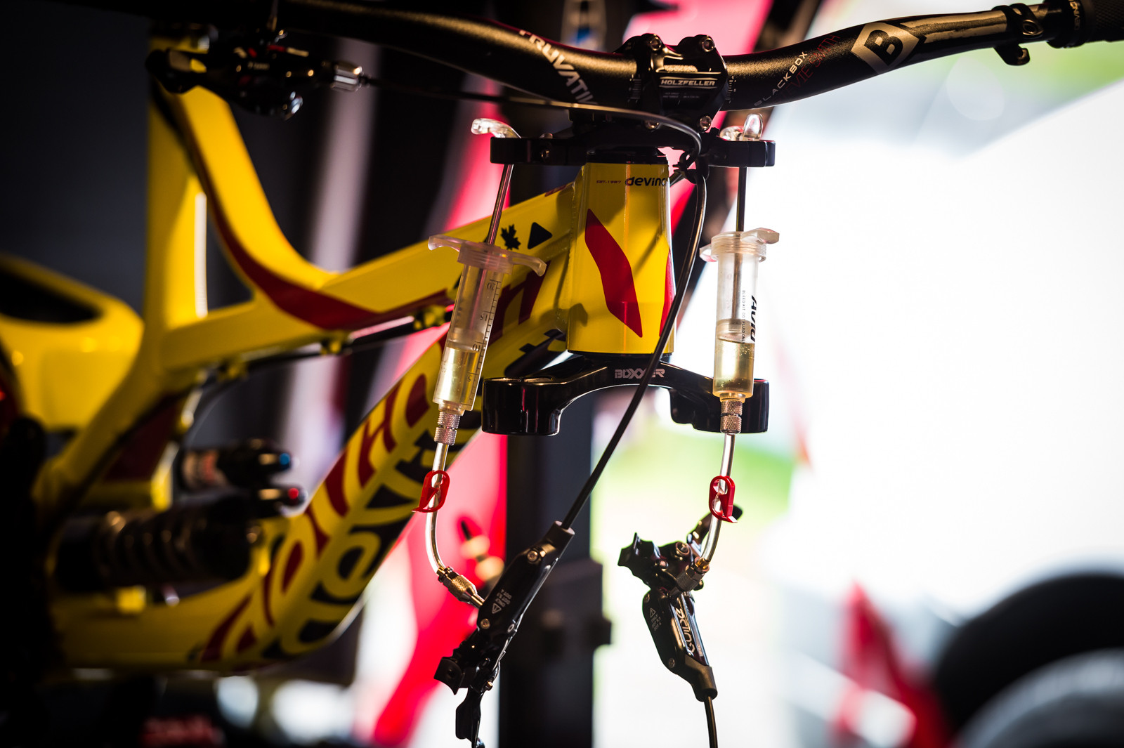 Devinci on the Drip - PIT BITS - Leogang World Cup Downhill - Mountain Biking Pictures - Vital MTB