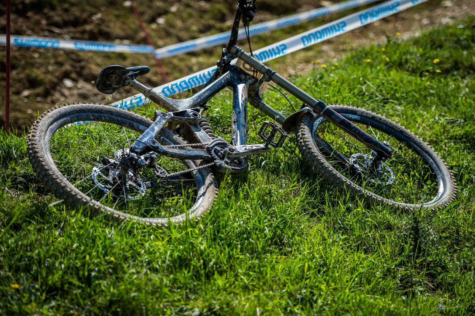 Prototype Carbon Rocky Mountain DH Bike - PIT BITS - Leogang World Cup Downhill - Mountain Biking Pictures - Vital MTB