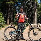 Trail Boss with his Devinci Spartan
