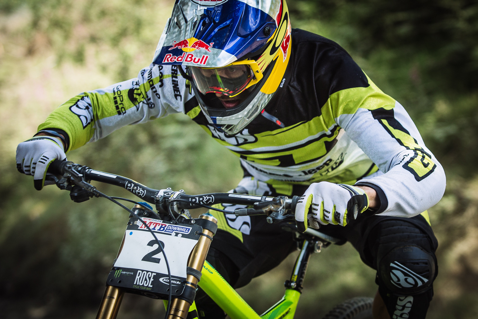 Gee Atherton, 2nd Place British DH Series, Bala - RACE REPORT - 2015 British Downhill Series Bala - Mountain Biking Pictures - Vital MTB