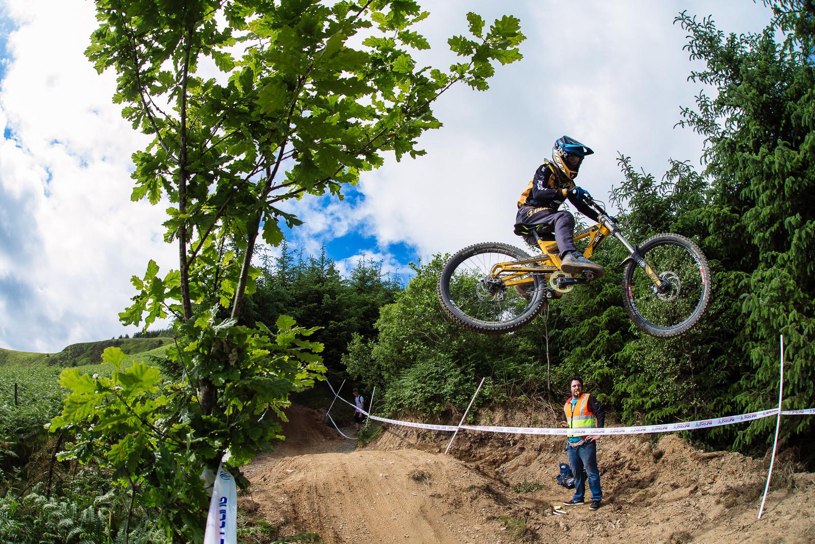 Jacob Dickson, Junior 1st Place, British DH Series, Bala - RACE REPORT - 2015 British Downhill Series Bala - Mountain Biking Pictures - Vital MTB