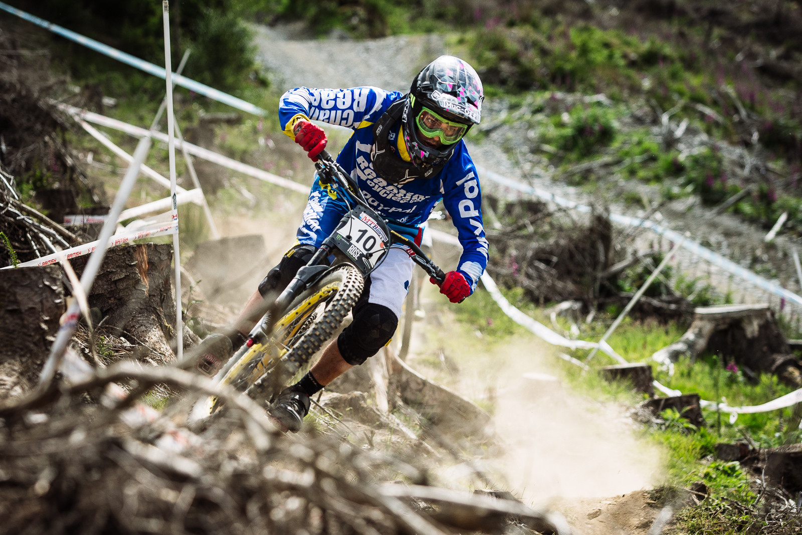 Mike Jones, 3rd Place, British DH Series, Bala - RACE REPORT - 2015 British Downhill Series Bala - Mountain Biking Pictures - Vital MTB