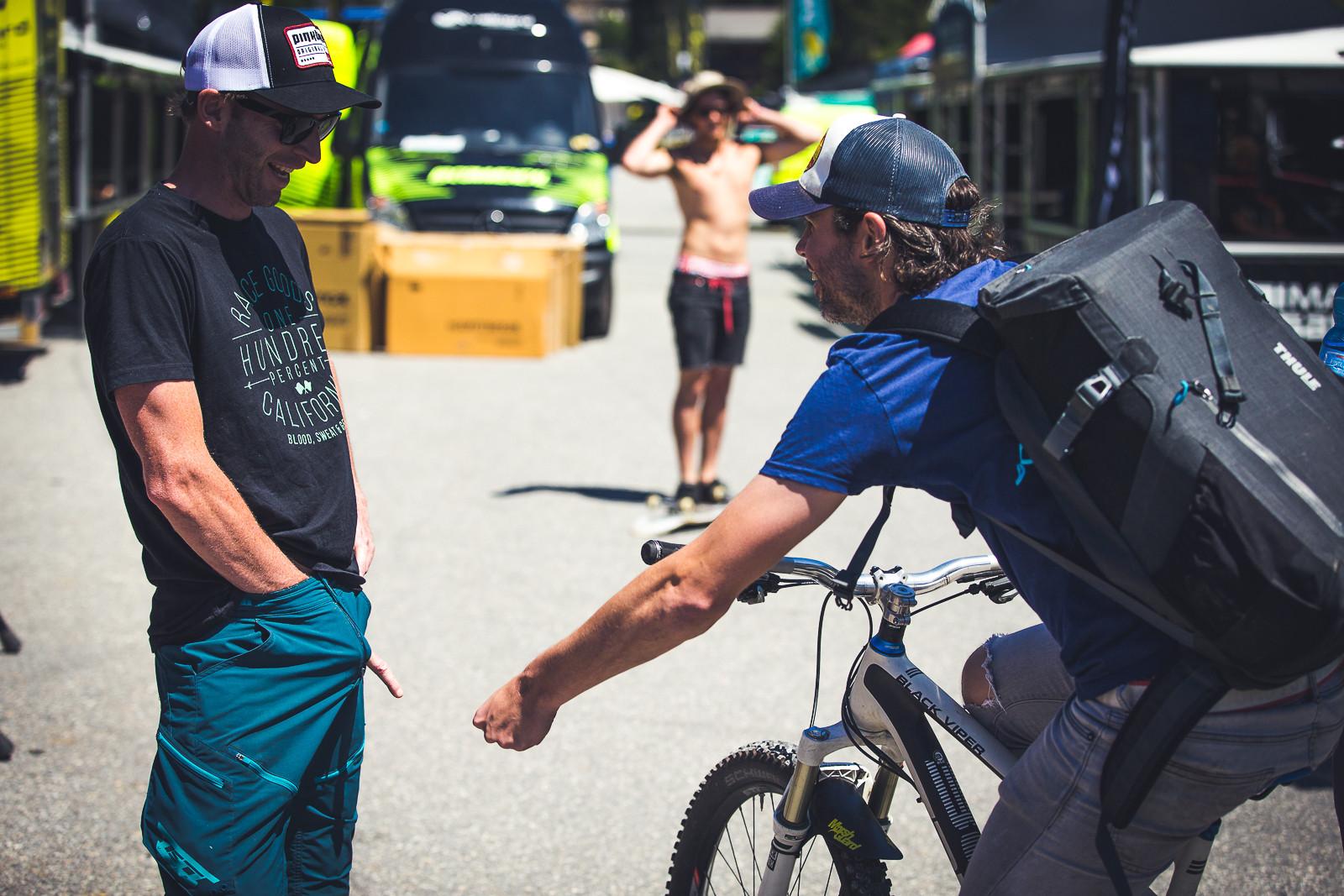 Pull My Finger - PIT BITS - World Cup Lenzerheide, Switzerland - Mountain Biking Pictures - Vital MTB