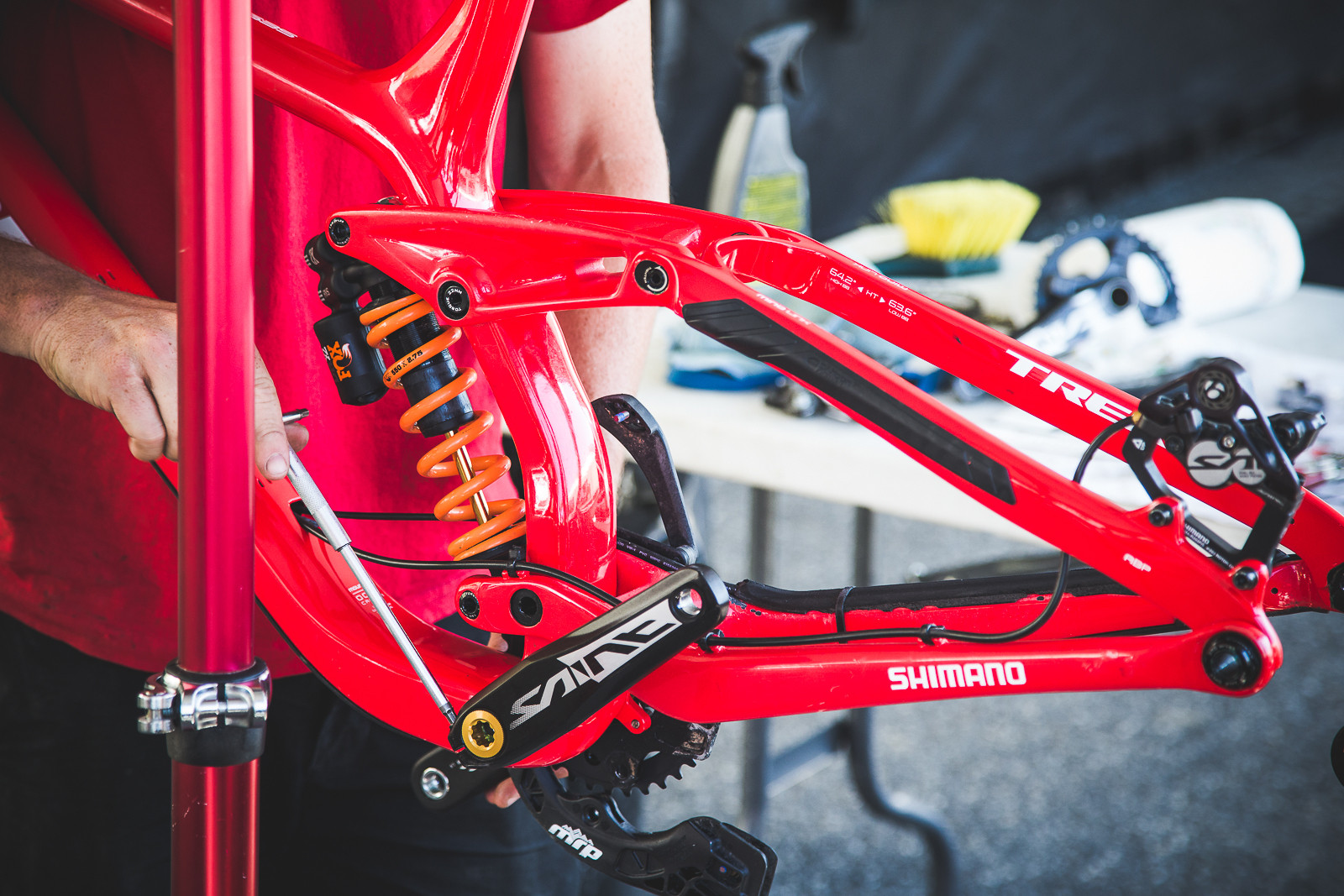PIT BITS - Trek World Racing - PIT BITS - World Cup Lenzerheide, Switzerland - Mountain Biking Pictures - Vital MTB