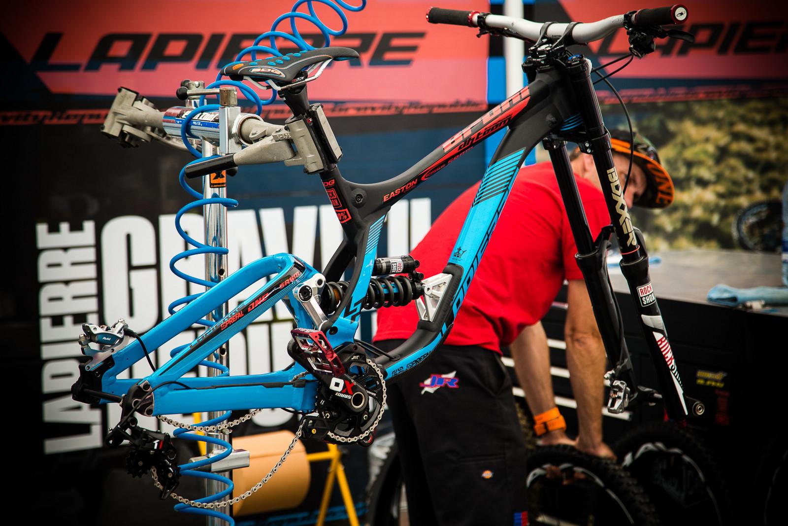PIT BITS - Loic Bruni's Lapierre DH - PIT BITS - World Cup Lenzerheide, Switzerland - Mountain Biking Pictures - Vital MTB