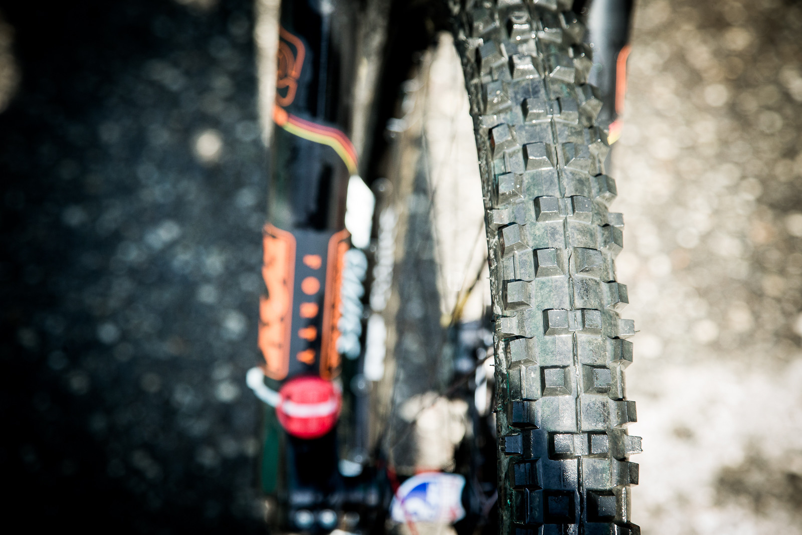 Fairclough Running Big Spike - PIT BITS - World Cup Lenzerheide, Switzerland - Mountain Biking Pictures - Vital MTB