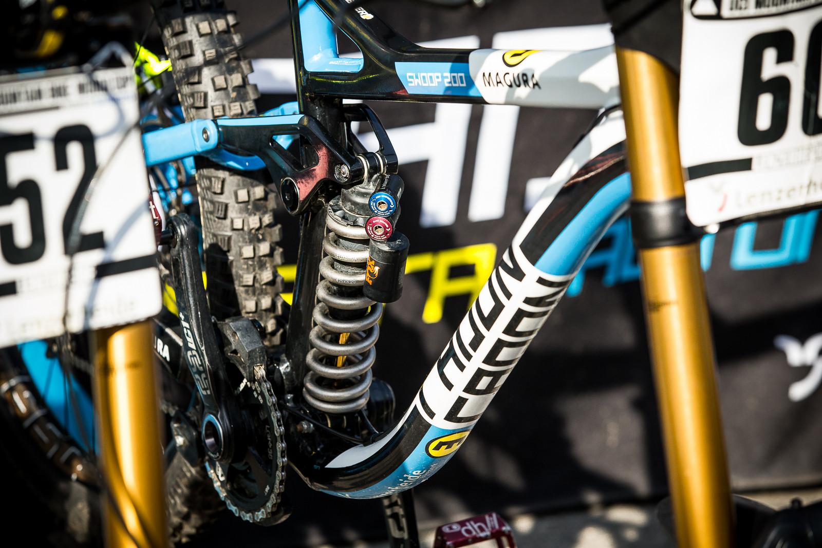 Radon DH Bike - PIT BITS - World Cup Lenzerheide, Switzerland - Mountain Biking Pictures - Vital MTB