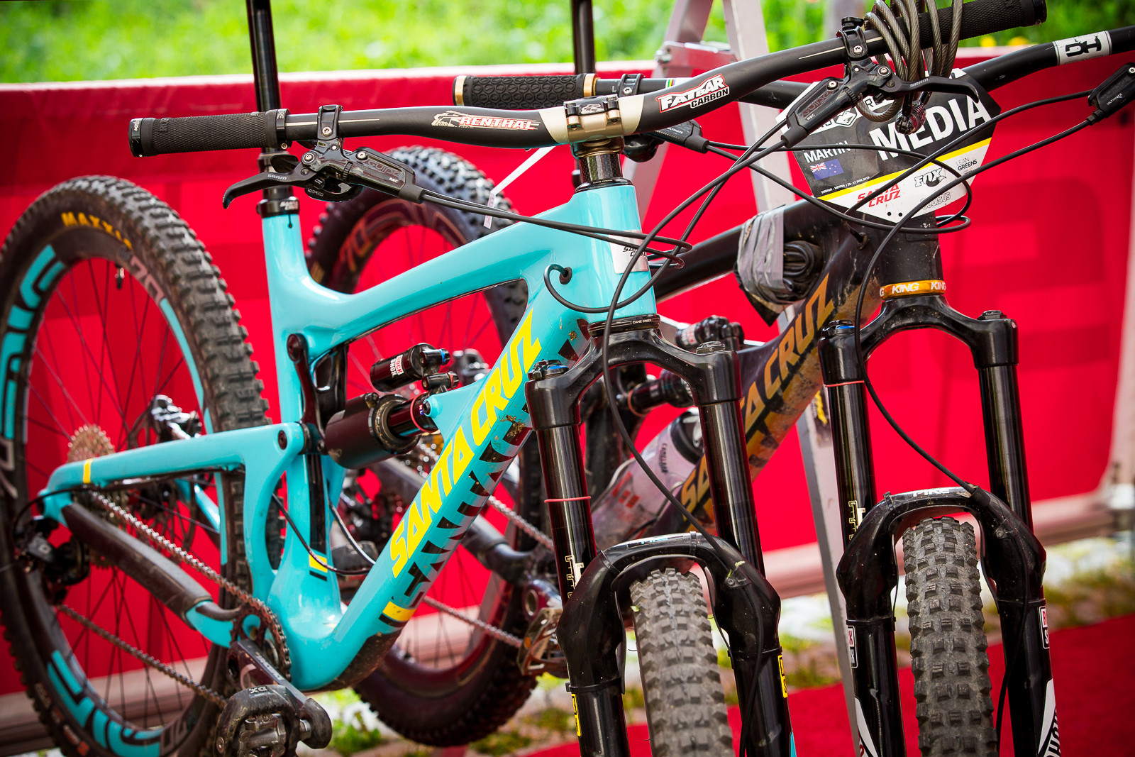 #SliderPuller Bikes - PIT BITS - World Cup Lenzerheide, Switzerland - Mountain Biking Pictures - Vital MTB