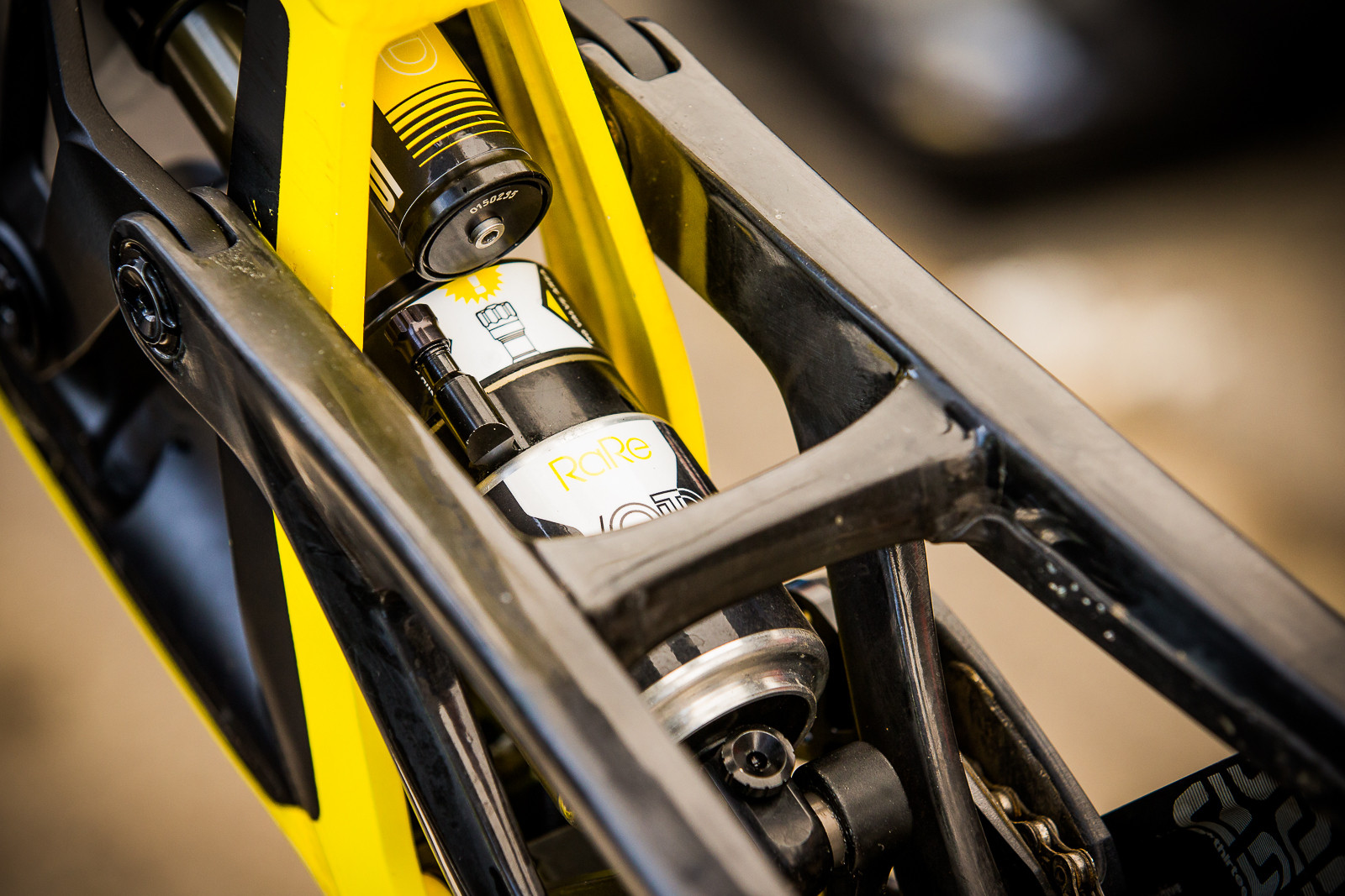 BOS RaRe Rear Shock - PIT BITS - World Cup Lenzerheide, Switzerland - Mountain Biking Pictures - Vital MTB