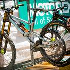 Jasper Jauch's Liteville DH Bike