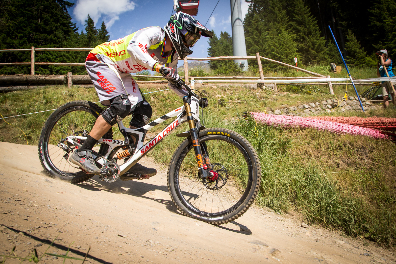 Greg Minnaar, G-Out Project, Lenzerheide World Cup - G-Out Project - Lenzerheide World Cup - Mountain Biking Pictures - Vital MTB