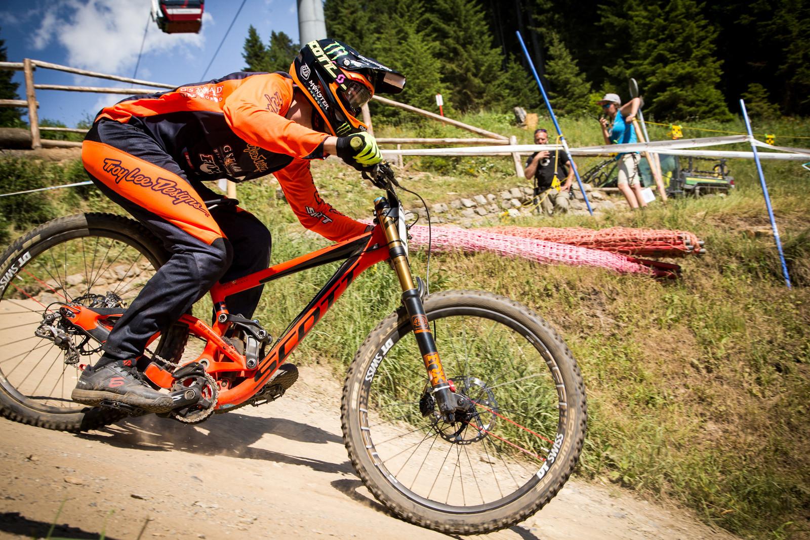 Brendan Fairclough, G-Out Project, Lenzerheide World Cup - G-Out Project - Lenzerheide World Cup - Mountain Biking Pictures - Vital MTB