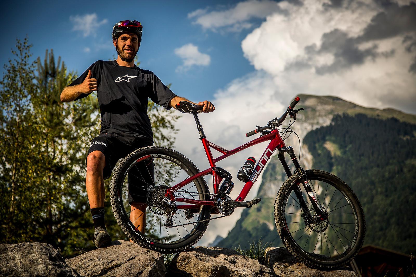 Thomas Lapeyrie's Sunn Kern LT Enduro Bike  - PIT BITS - Enduro World Series, Samoens, France - Mountain Biking Pictures - Vital MTB