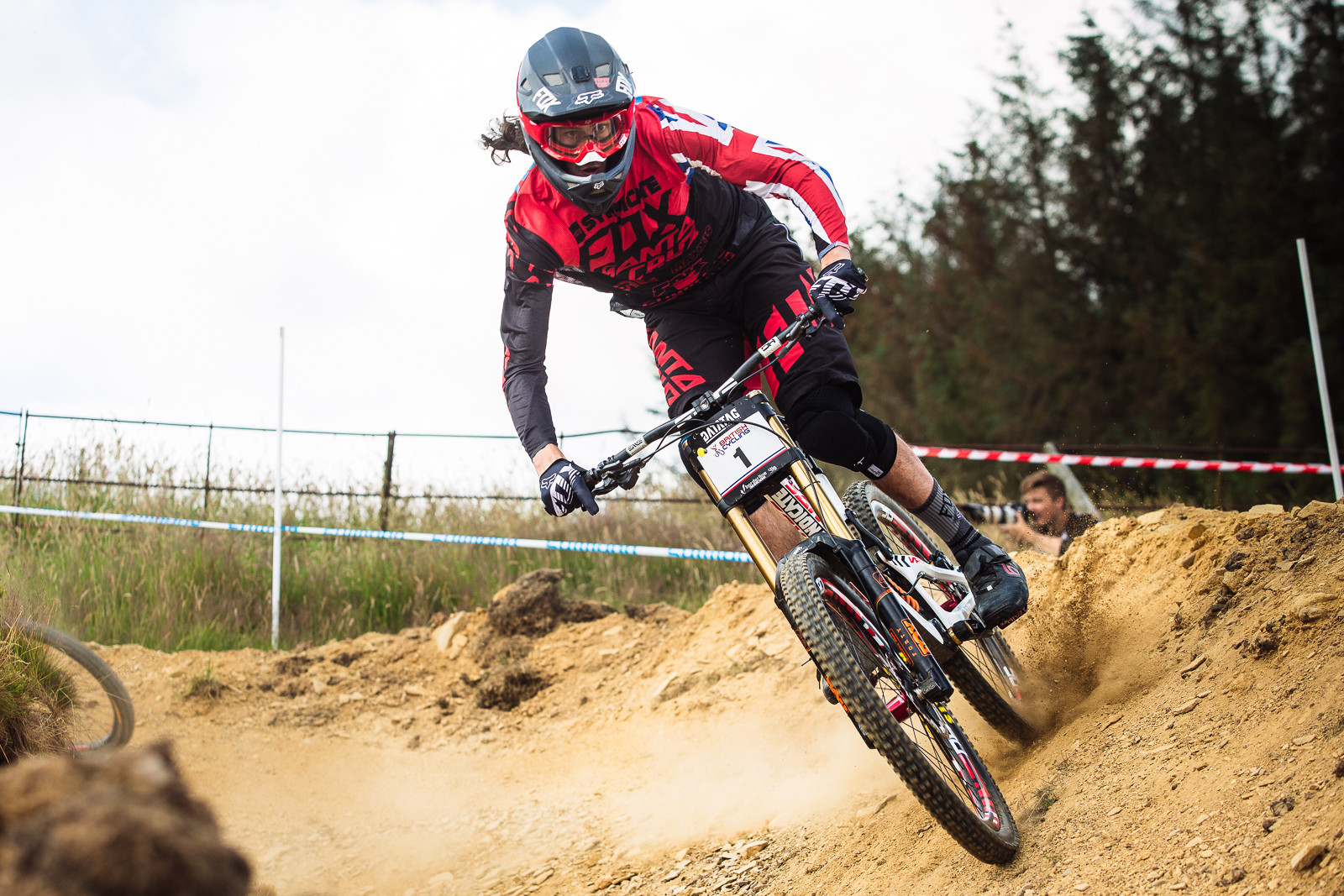 Josh Bryceland - 2015 British National Champs Downhill - 2015 British National Champs Downhill Photos - Mountain Biking Pictures - Vital MTB